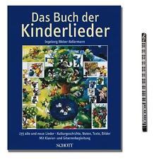Das Buch der Kinderlieder Liederbuch - Verlag Schott - ED7966 - 9790001121835