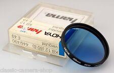B + W corrección filtro azul kb12 80b filtro 49mm m49 schraubfassung o2743
