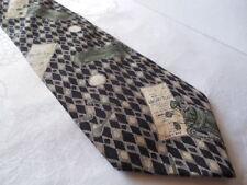 E. Magrath Golf Theme Designer Silk Tie