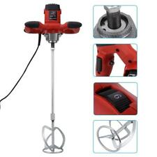 Mortar Mixer 1500W Plaster Cement Tile Adhesive Render Paint Electric Tools