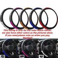 Foam Steering Wheel Cover/Glove Soft/Padded Car/Van Universal+ PU Select color