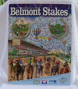 2005 Belmont Stakes Program Afleet Alex Jeremy Rose