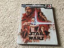 Star Wars: The Last Jedi (4K Ultra HD/Blu-ray/Digital) Steel Book Best Buy Excl