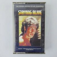 STAYING ALIVE - Soundtrack (Cassette) w/ Bee Gees [Like New!]