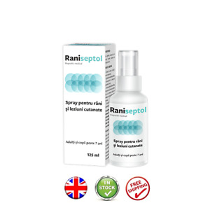 Burns Relief Cuts Scratches Skin  RANISEPTOL UK