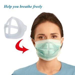 20 Pcs Support Masque Protège Maquillage Pour PE 3D Respirant Femme Homme Fr