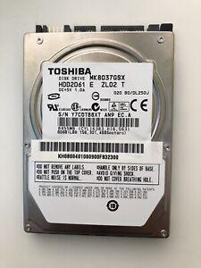 """Toshiba 80GB HDD S/N Y7C0TB8XT AN9 EC.A 2.5"""""""