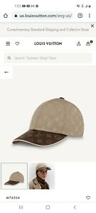 Louis Vuitton Hat - Golden and Brown with LV monogram Design
