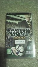 Football Manager Handheld 2010 (Sony PSP, 2009) Version 2