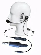 NEW UFQ in-ear helicopter pilot headset UFQ L1 Super Light Weight  Quiet as ANR!