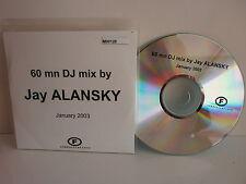 CD SAMPLER 60 MN dj MIX BY jay alansky jANUARY 2003