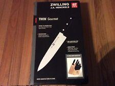 Zwilling JA Henckels Twin Gourmet 15pc Block Set, New