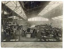 Photo Louis Pricam Genève - Salon de l'automobile Stand Omega - 1915 -