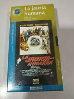La Jauria Humana Robert Redford Marlon Brando - VHS Cinta Español Nueva