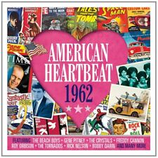 American Heartbeat 1962 - 50 Original Recordings 2CD NEW/SEALED