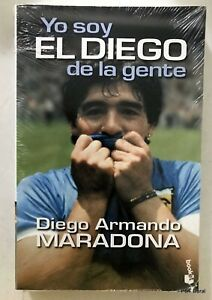 Maradona - Yo soy el Diego (2000) New Edition Book from Argentina Spanish