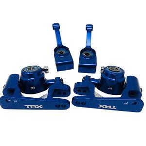 Traxxas Slash Blue Aluminium Spindle Axle Carrier Bushing Hub Platinum 4x4 F&R