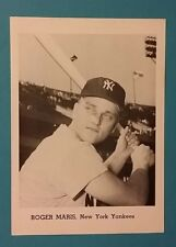 ROGER MARIS VINTAGE B&W 5X7 JAY PUBLISHING YANKEES PHOTO