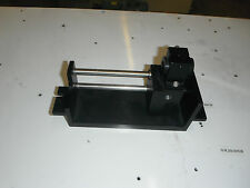"Linear Guide w/round rails and bearings app. 4.5"" travel"