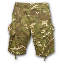 BRITISH ARMY STYLE PCS ACU SHORTS COMBAT ISSUE CAMO AIRSOFT CARGO