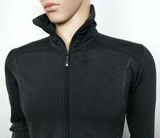 Salomon Mens Track Jacket Top Black Full Zip Size M Running Fitness New RRP£130