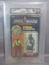 "Star Wars 1985 ""BARADA"" AFA 80/60/85 Power of the Force Vintage POTF"