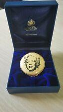 "Halcyon Days HandPainted Lebox Marilyn Monroe ""Gold Marilyn 1962"" by Andy Warhol"