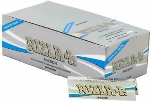 RIZLA Micron Standard Regular Size Cigarette Smoking Rolling Papers Ultra Thin