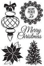 *A&B* KAISERCRAFT Scrapbooking Clear Stamps Christmas Wishes CS270