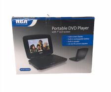 "New listing Rca Drc99371Eb (7"" Screen) Black Portable Dvd Cd Player New"