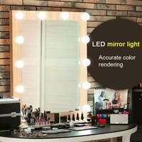 Wall Lamp LED Makeup Mirror Vanity Bulb Light Dressing Table