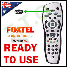 FOXTEL REMOTE Control Replacement For FOXTEL MYSTAR HD & PAYTVS SILVER COLOR