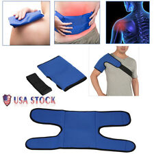 Reusable Ice Pack Gel Shoulder Wrap Pain Relief Body Hot and Cold Therapy US