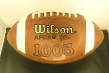 NCAA College Football Game Used Wilson Ball Indiana Hoosiers From Penn State