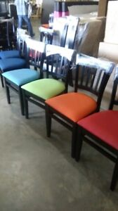 Restaurant solid wood dining chairs for everyday use. Perfect fits at restaurant