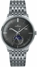 AUTHORIZED DEALER Junghans 027/4505.45 Meister Calendar Moonphase Watch
