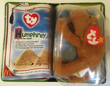 TY Legends Teenie Beanie Babies Humphrey The Camel McDonalds Collectible Error
