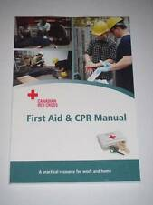 FIRST AID & CPR MANUAL Canadian Red Cross Society 2011 NEW