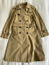 BURBERRY Long Chelsea Trench Coat UK10