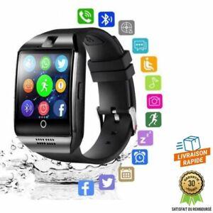 Montre Bluetooth Connectée Smart Watch Bracelet Android Téléphone Sport TF SIM