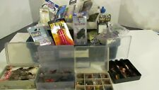 Fly Fishing Tackle Box Full of Assorted Flies Big Lot of New Fly Tying