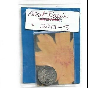 Mint Coin  - 25 cent coin  -  Great Basin  2013-s
