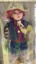 Seymour Mann Porcelain Raggedy Andy Doll Brand New