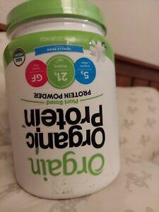 🔥 Orgain Organic Plant Based Protein Powder, Vanilla Bean - Vegan exp 5/21+