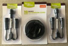 Better Homes And Gardens QuickFit 2- 3-Way Connector Spliter,10' Extension Cord