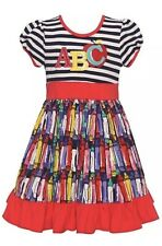 NWT Rare Editions Boutique School Dress, Size 2T