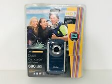 Vivitar Digital Camcorder With Camera Model DVR-380 Blue Water Proof
