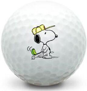 3 Dozen (Snoopy Golfing Logo) Taylor Made Assorted AAAAA Golf Balls