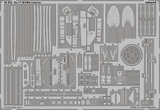 EDUARD 48922 Exterior for KittyHawk Kit Su-17M3/M4 in 1:48