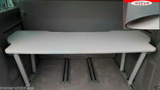 VW T5 & T6 Multivan Multiflexboard Bettverlängerung Ablage H :53cm Uni Grau